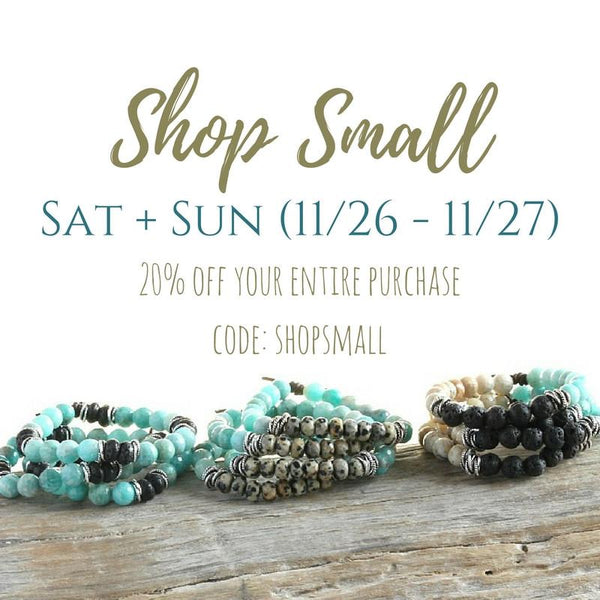 Shop Small Saturday and Sunday