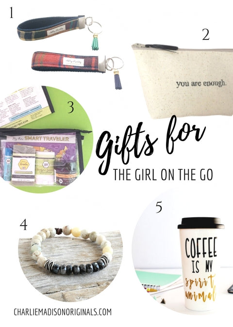 Gift guide - girl on the go