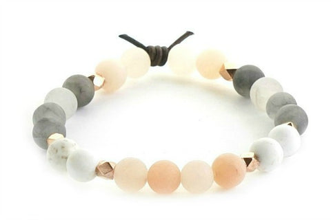 Be Present - meaningful bracelet for women
