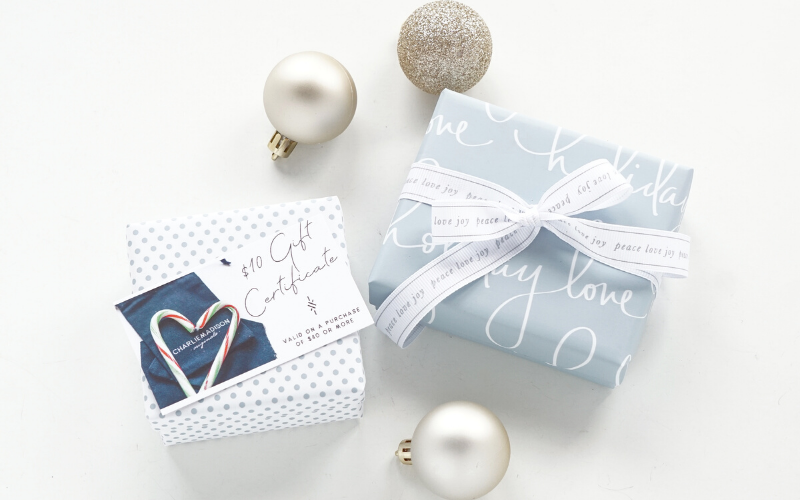 Charliemadison Holiday Gift Shop - meaningful gifts for her
