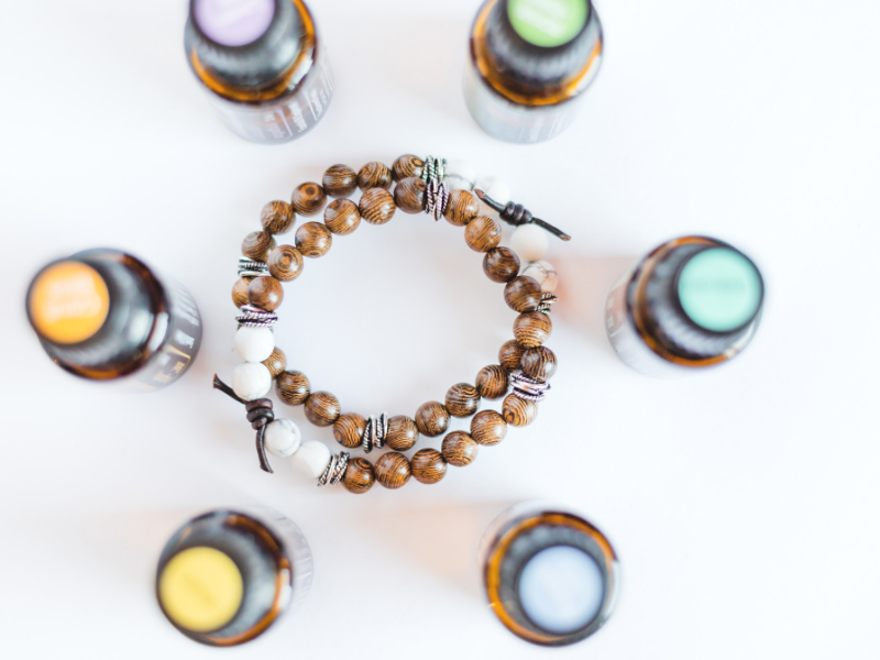 Essential oil diffuser bracelet for doTerra essential oils
