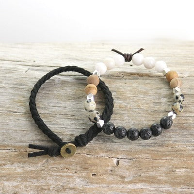 Essential oil bracelet Set