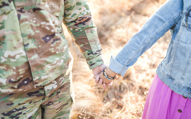 Giving back to military charities