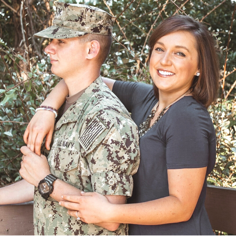 Kohlie Browning, military spouse