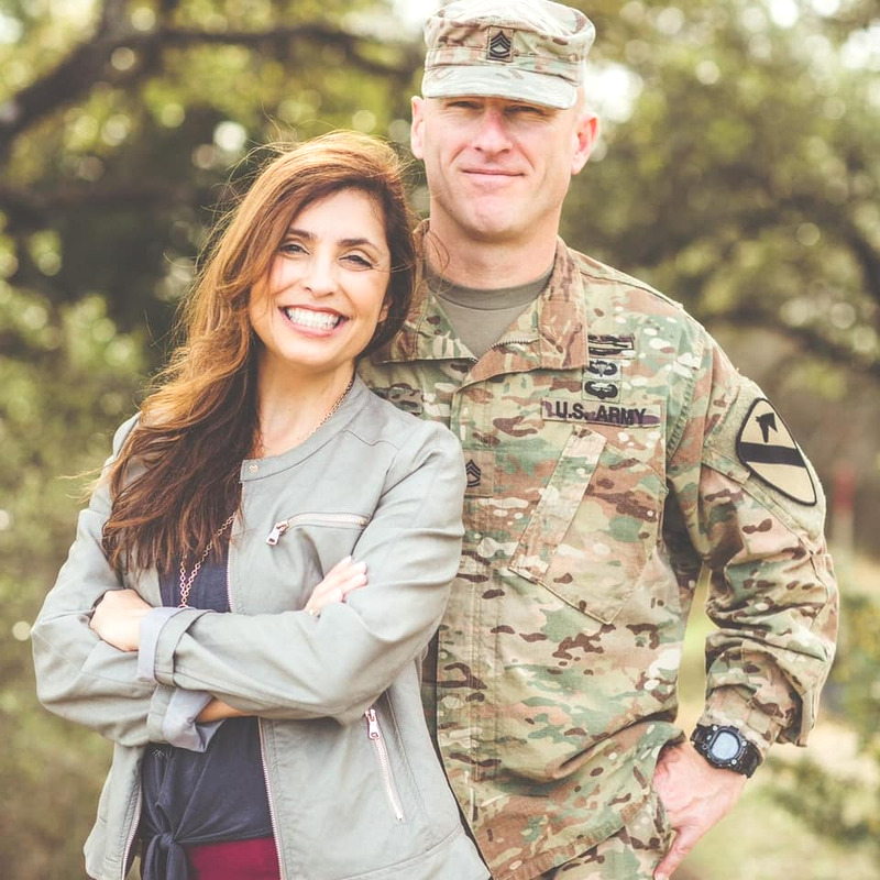 Maria Reed, Army spouse