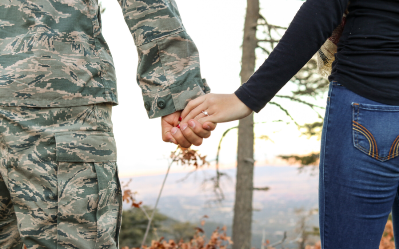 Military marriage