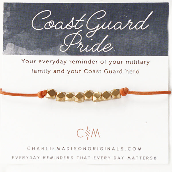 Military Branch Leather Mini | Coast Guard