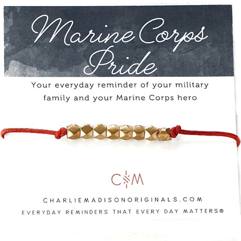 Military Branch Leather Mini | Marine Corps
