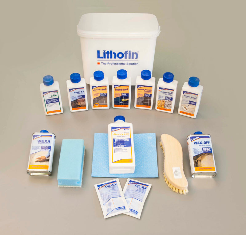 Tilers Test Kit - Lithofin