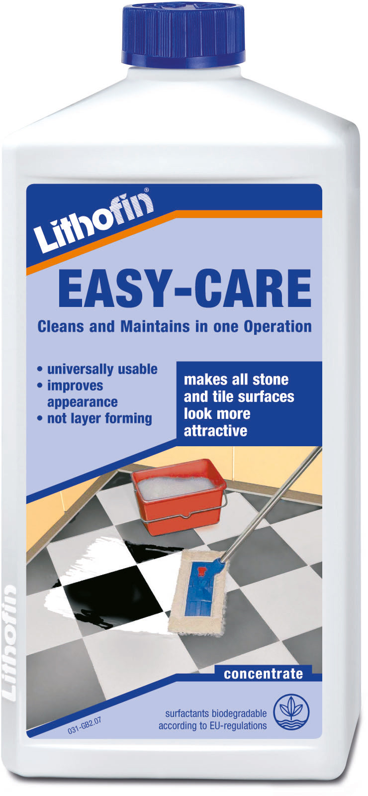 Lithofin Easy-Care - cleans and maintains in one operation