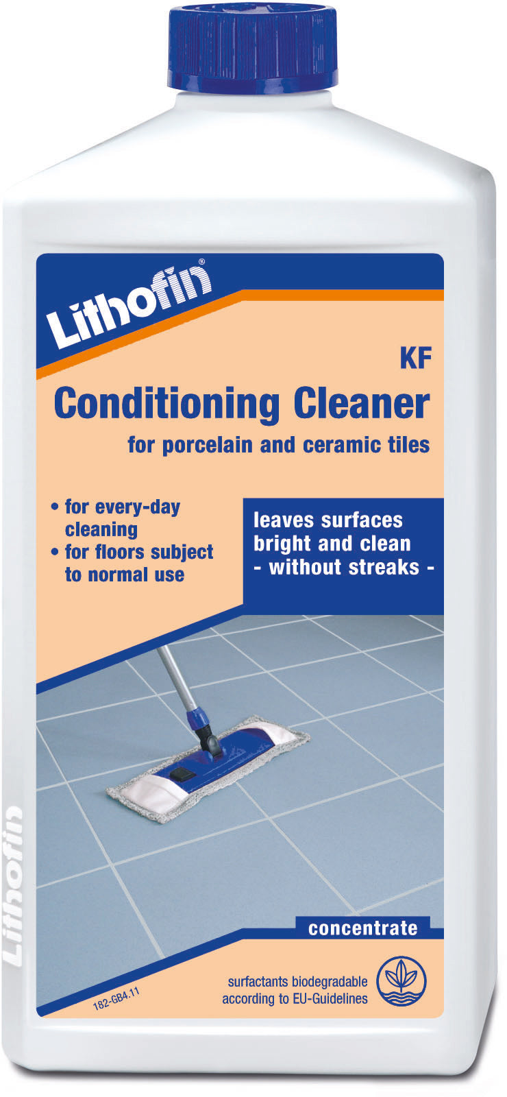 Lithofin Conditioning Cleaner for porcelain and ceramic tiles