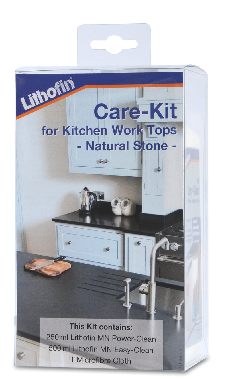 Maintenance Kit for Natural Stone Kitchen Worktops