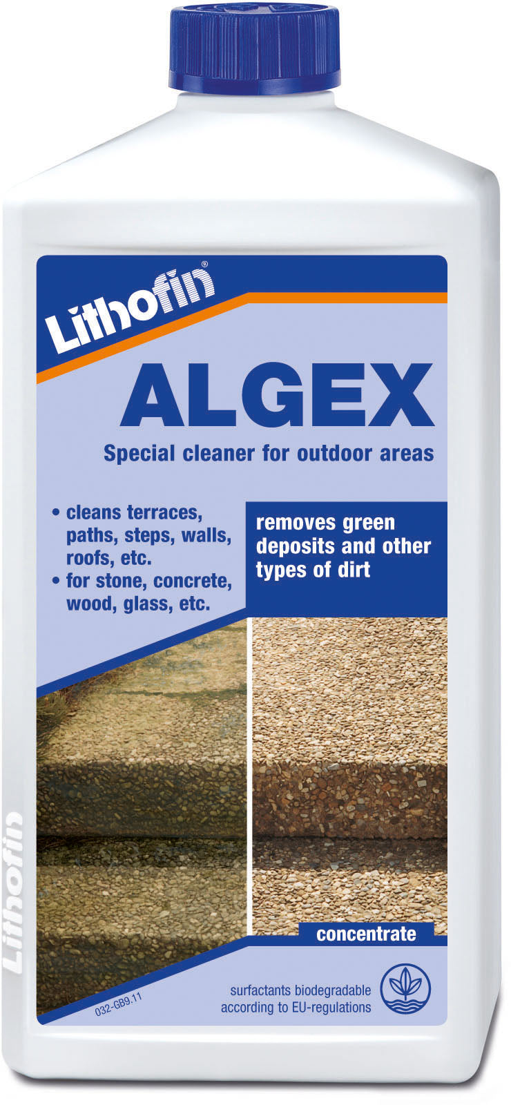ALGEX special cleaner for outdoor areas