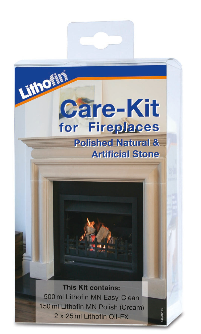 Maintenance Kit for Polished Natural Stone Fireplaces