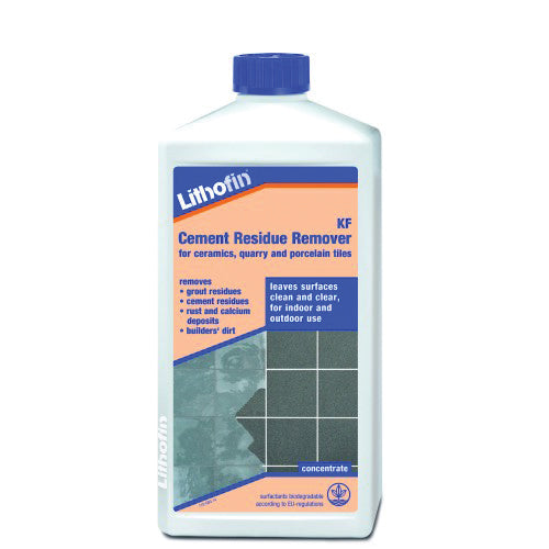 Lithofin residue remover - leave surfaces clean and clear