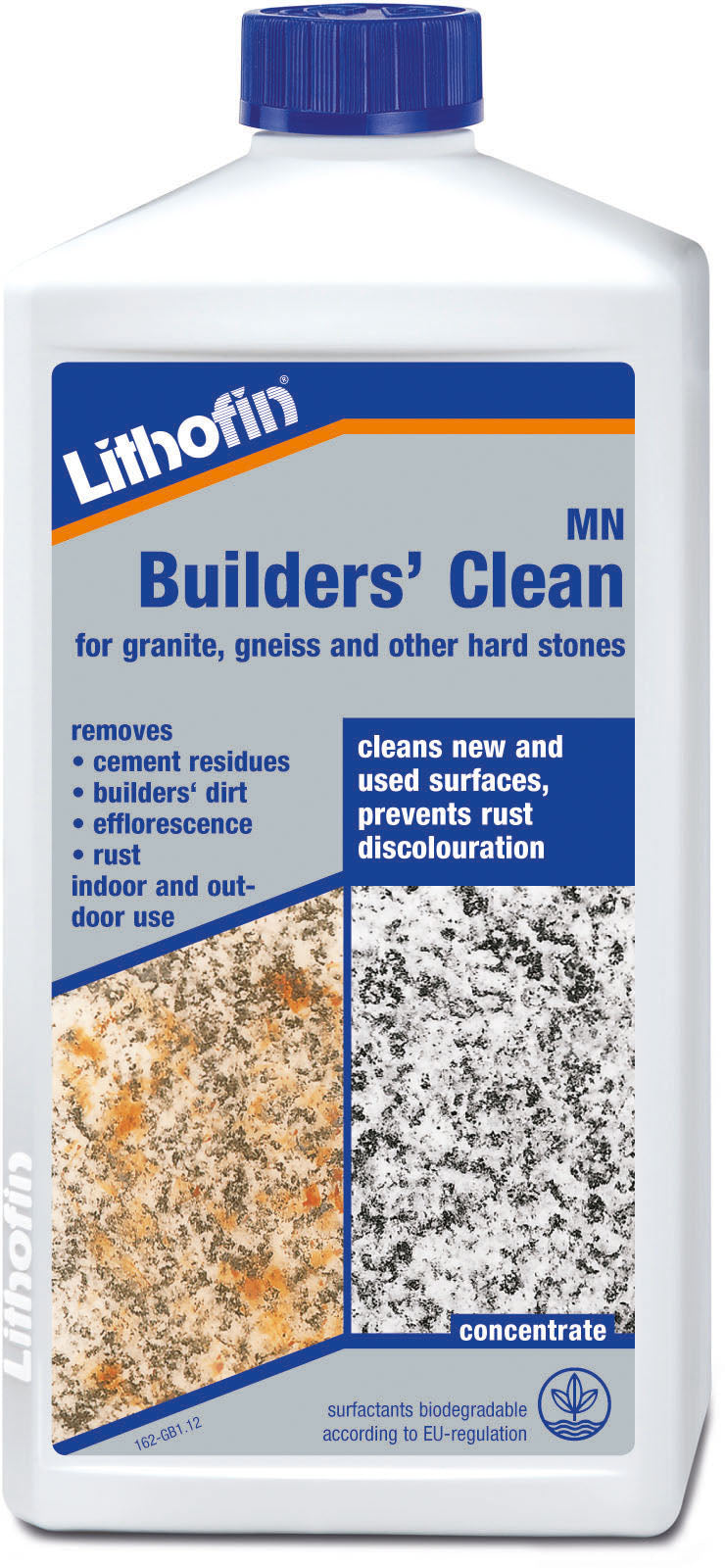 Lithofin Builders' Clean for granite, gneiss and other hard stones