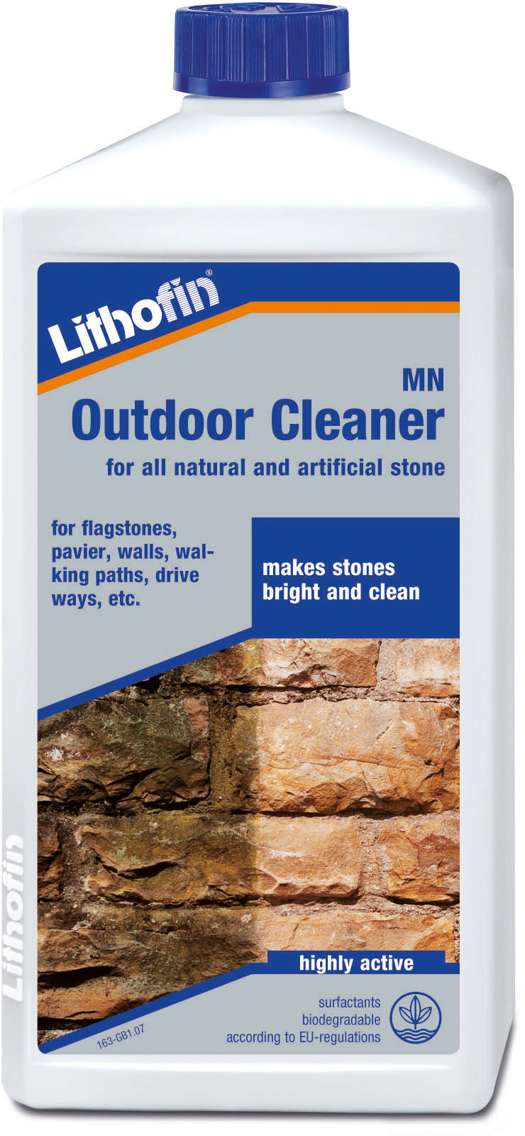 Lithofin outdoor cleaner for all natural and artificial stone