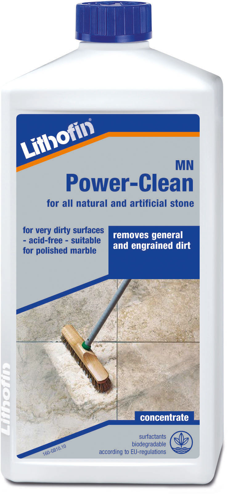 Lithofin mn power clean for all natural and artificial surfaces