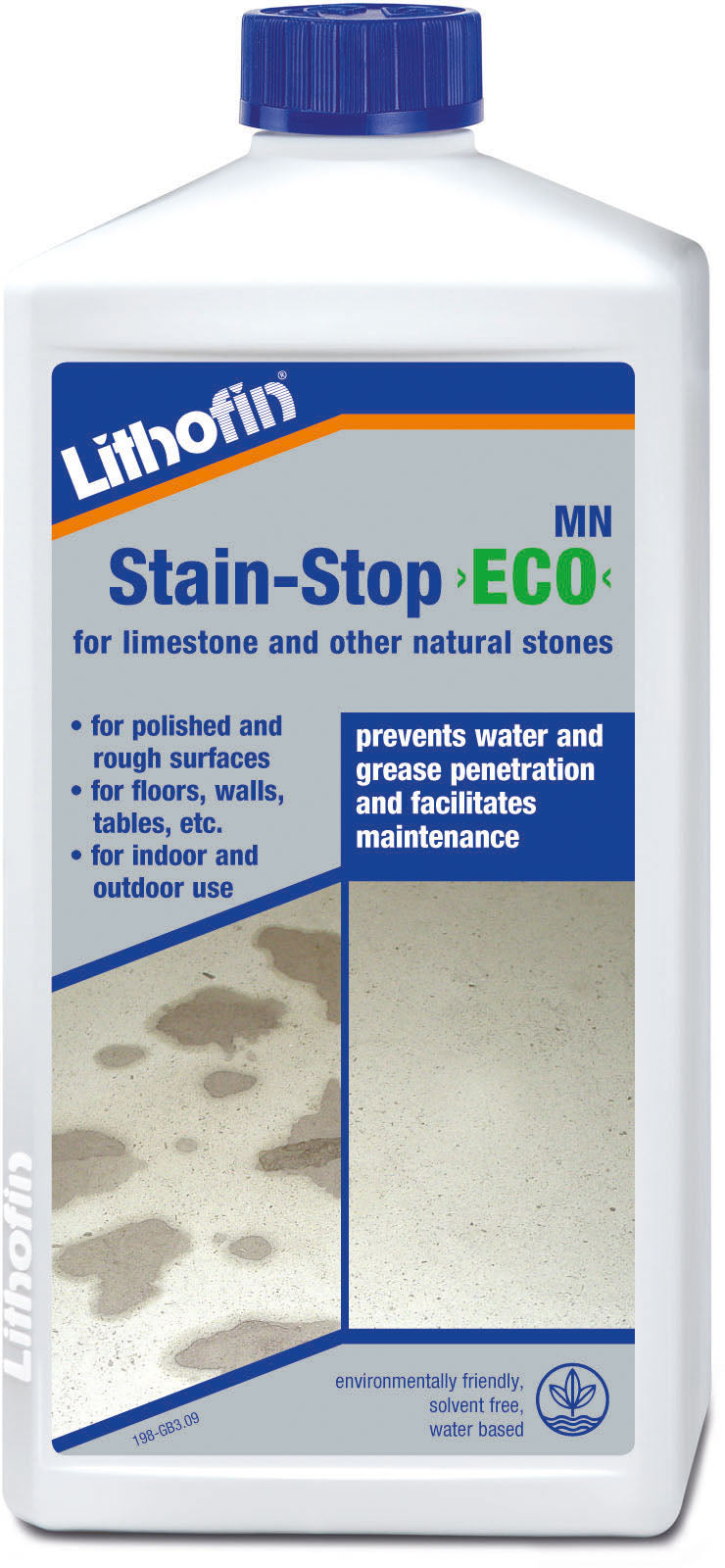 Lithofin stain stop eco for limestone and other natural stones
