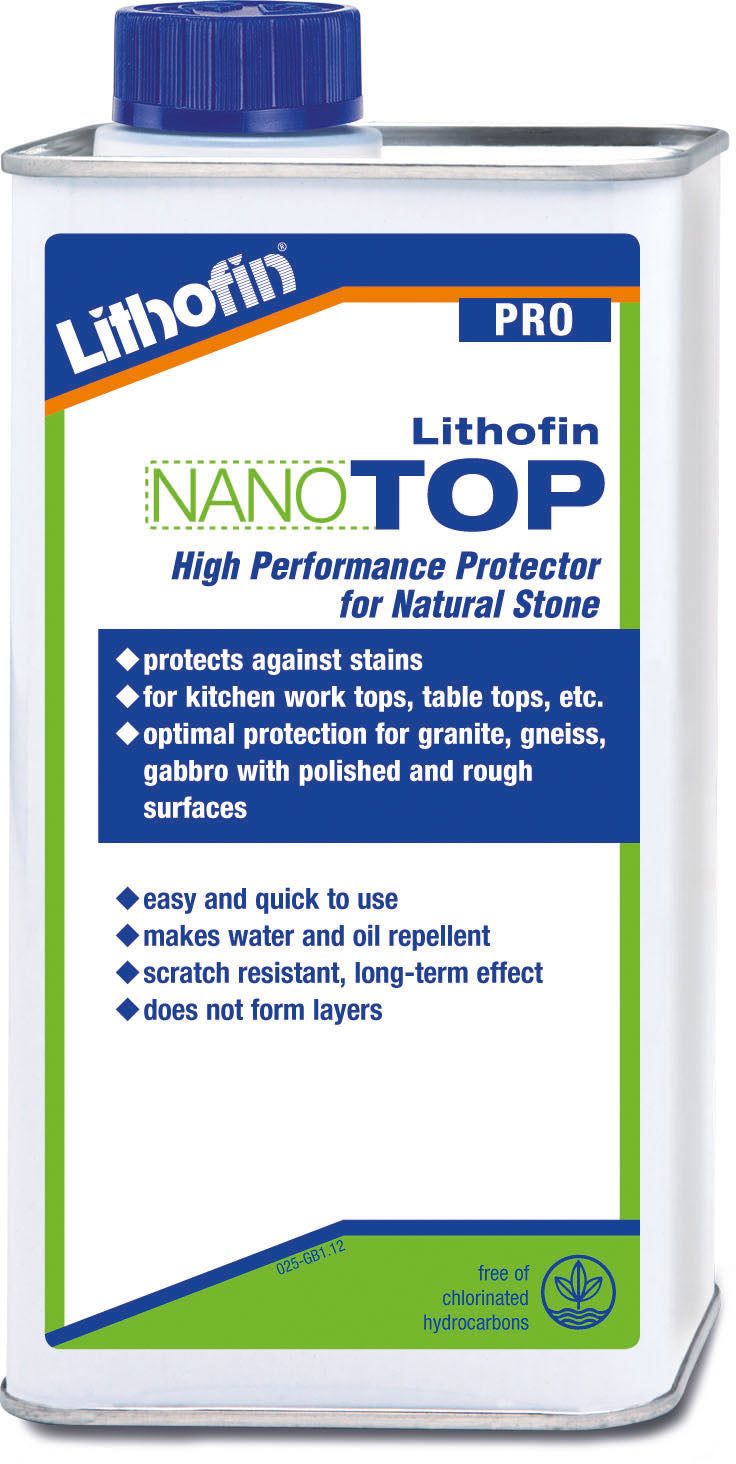 Lithofin nano top high performance protector for natural stone