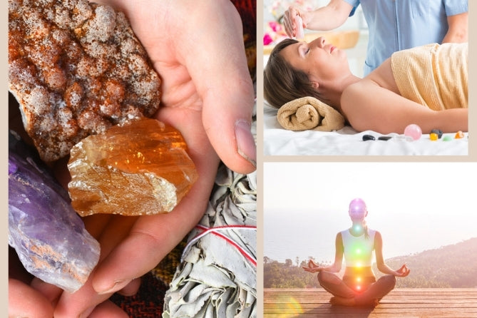 Using Crystals and Smudge Sticks with Reiki Healing