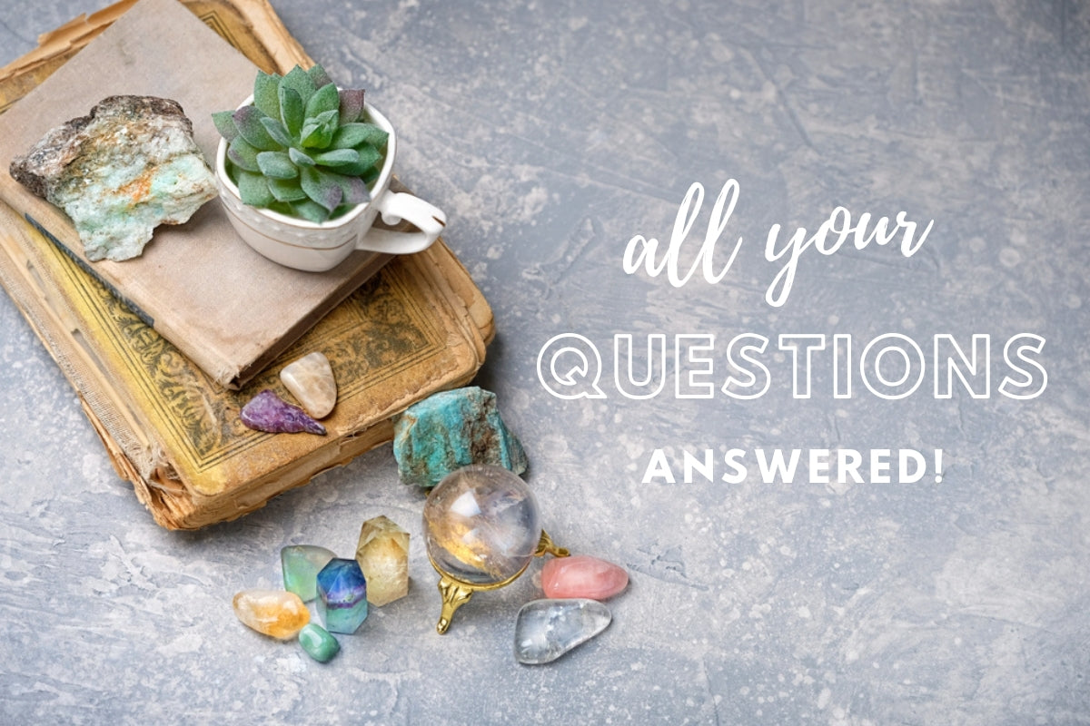 Everything you need to know about crystal healing... all your questions answered