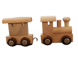 Small Wooden train and carriage