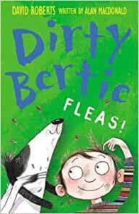 Cover page of Alan MacDonalds Diry Bertie Fleas!