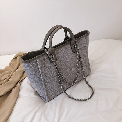 Bucket bag women large capacity single shoulder
