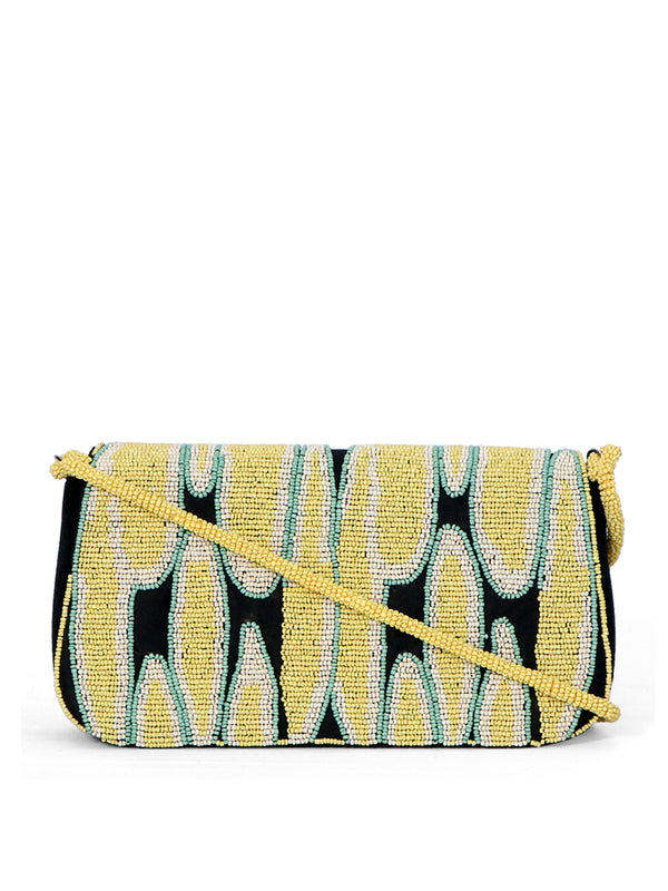 VIRGINIE Multi Color Beaded Handbag