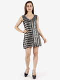 Imaya Metallic Embellished Dress