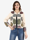 CAREY Multi Leaf Hand Embellished Jacket