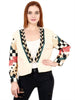 DELIA Multicolored Hand Embellished Jacket