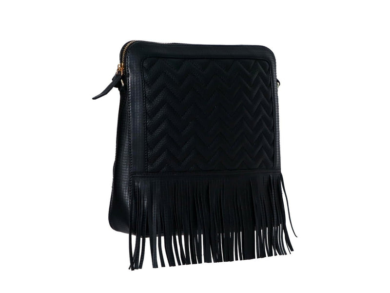 BIZARRE Cross Body Sling Bag with Fringes