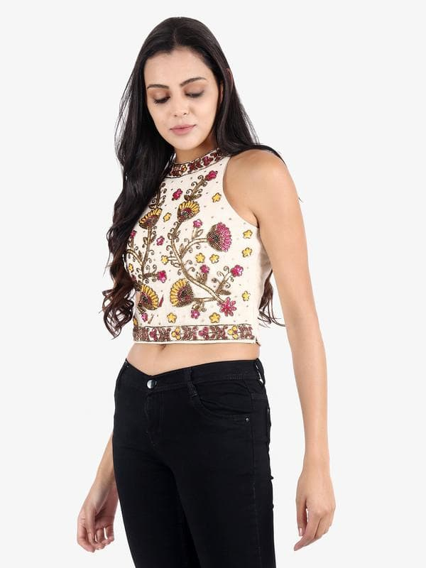 Andra Embellished Top