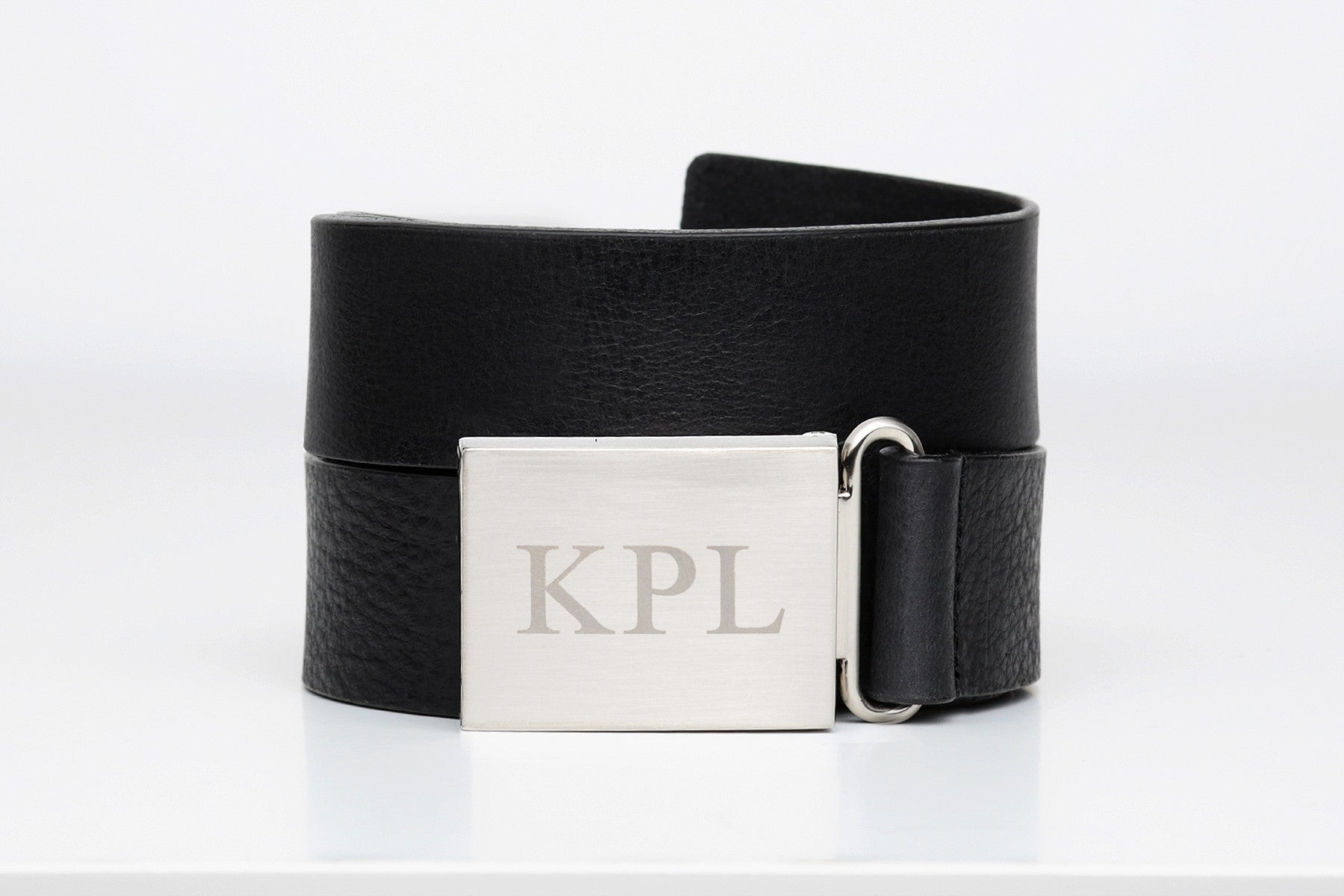 Monogrammed Leather