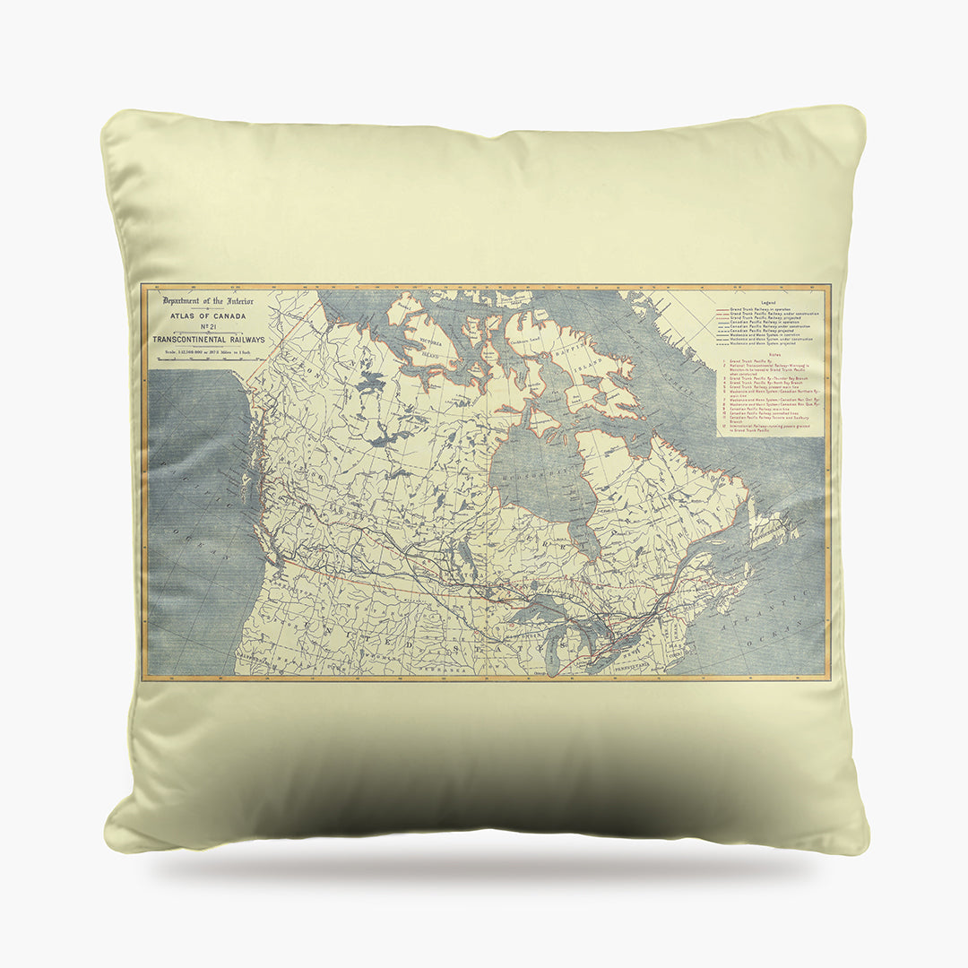 Canada Map Dog Bed