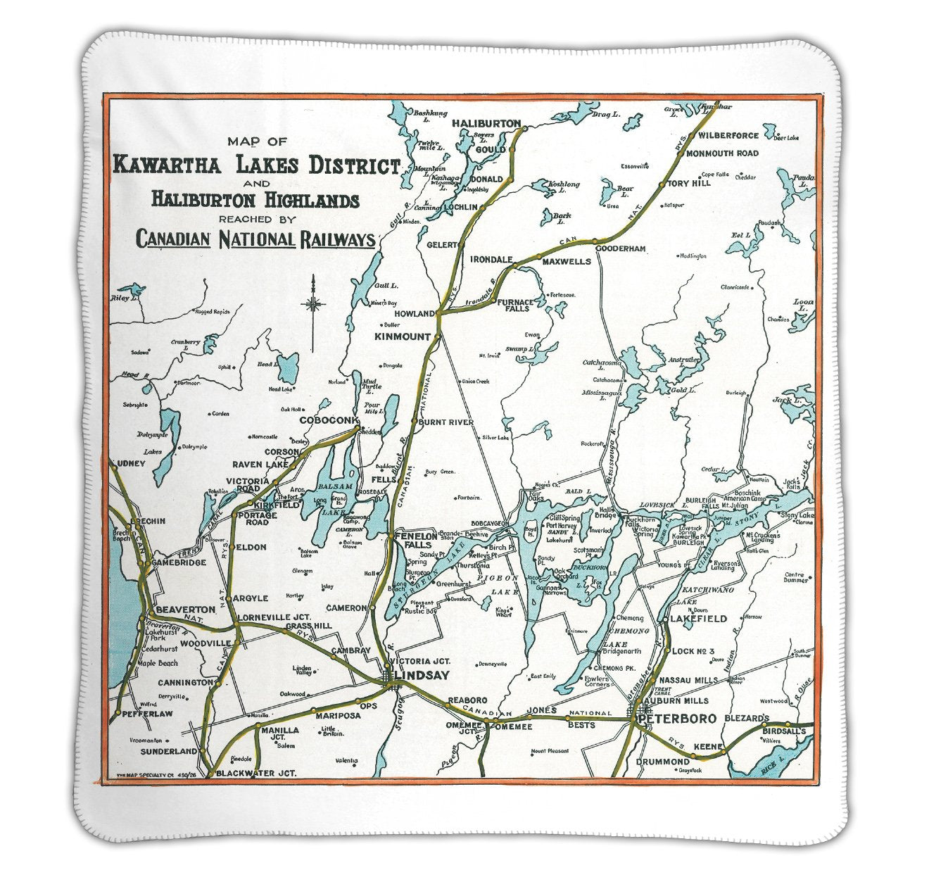 Kawartha Lakes Holiday Map Set