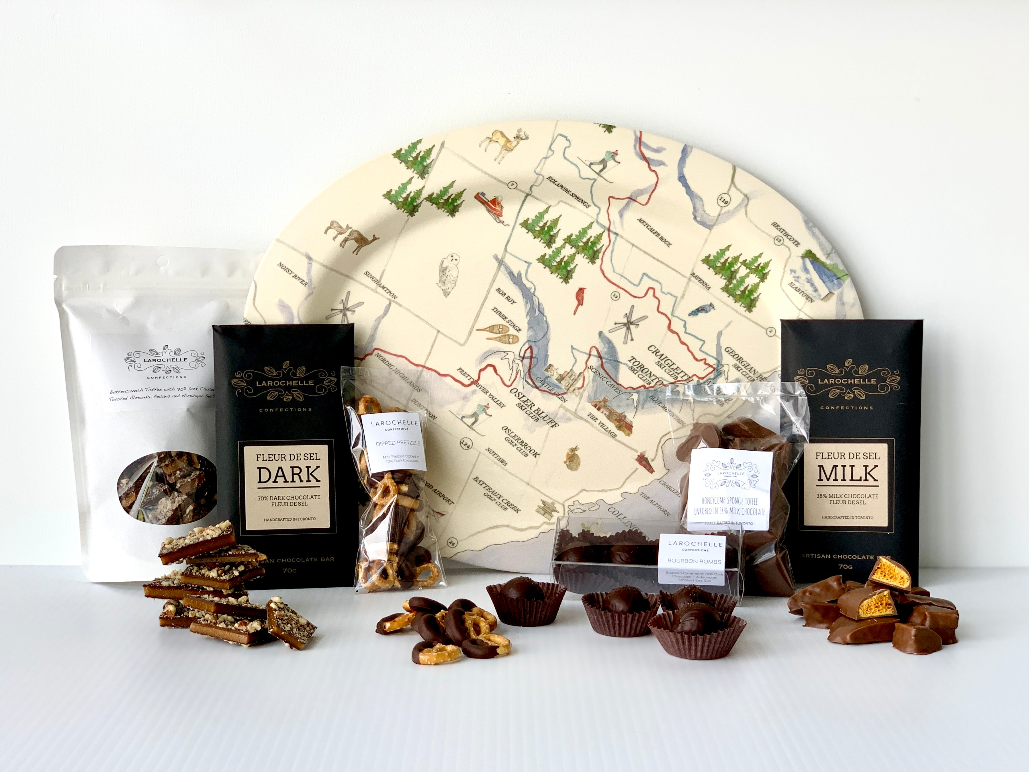 Map Platter & Chocolate Combo - Chalet