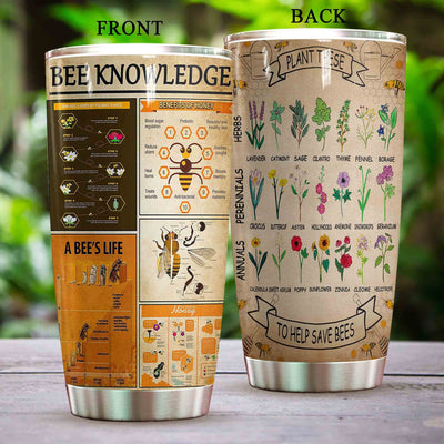 Bee Knowledge Tumbler PRE830 -1