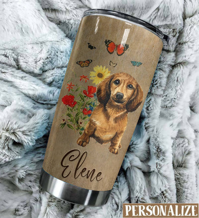 Dachshund Remember Me Personalized Tumbler PRE976 -2