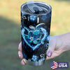 Blue Flower Sea Turtle Personalized Tumbler PRE875 -2
