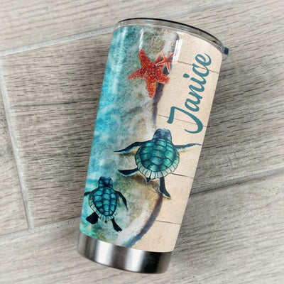 Daughter Personalized Dear My Lovely Daughter Tumbler PRE989 -2