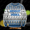3D All Over Print Absolut Vodka Ugly Christmas Sweatshirt Hoodie All Over Printed CINT10302 -1
