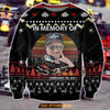 3D All Over Print Dale Earnhardt Ugly Christmas Sweater Hoodie All Over Printed CINT10211 -1
