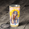 She Is Life Itself Wild And Free Sunflower Hippie Tumbler NPF87TC - 2