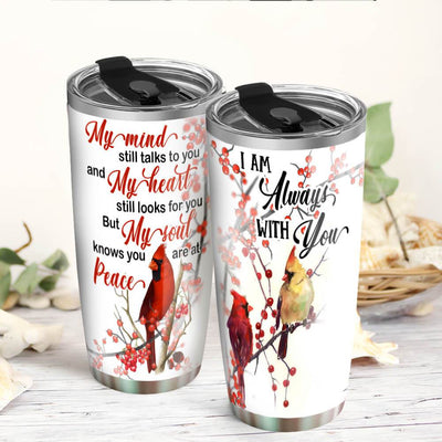 I Am Always With You Cardinal Tumbler THH1649T1 - 1