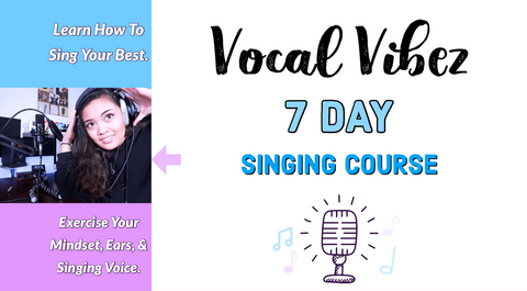 Vocal Vibez 7-Day Singing Courses!