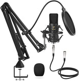Tonor TC20 XLR Condenser Microphone Bundle!