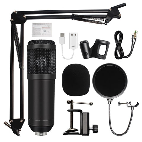 STUDIO CONDENSER MICROPHONE (XLR TO 3.5MM) - BM800